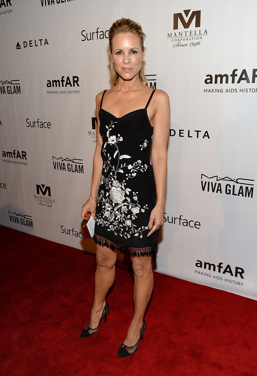 . Actress Maria Bello attends amfAR Inspiration Gala during the 2013 Toronto International Film Festival on September 8, 2013 in Toronto, Canada.  (Photo by Jason Kempin/Getty Images)