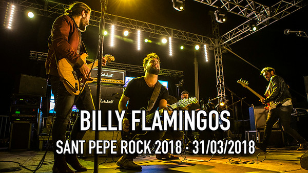 BILLY FLAMINGOS - SANT PEPE ROCK