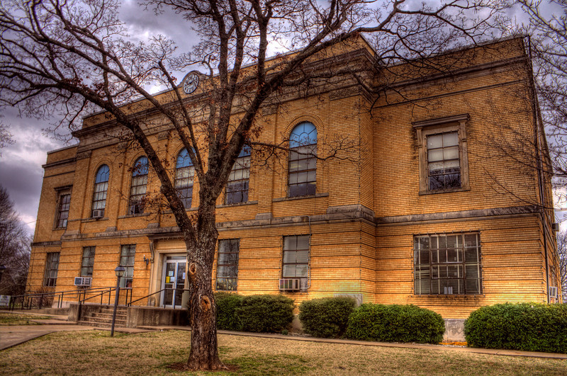 Logan County Courthouse - Booneville, AR