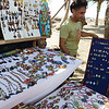 Jewellery stall at the crocodile tour.