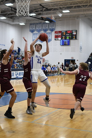 UCHS Blue Devil Basketball vs Happy Valley - December 2020