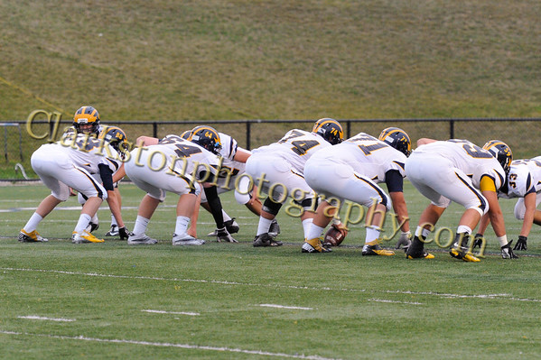 2012 Clarkston Varsity Football vs. Stoney Creek