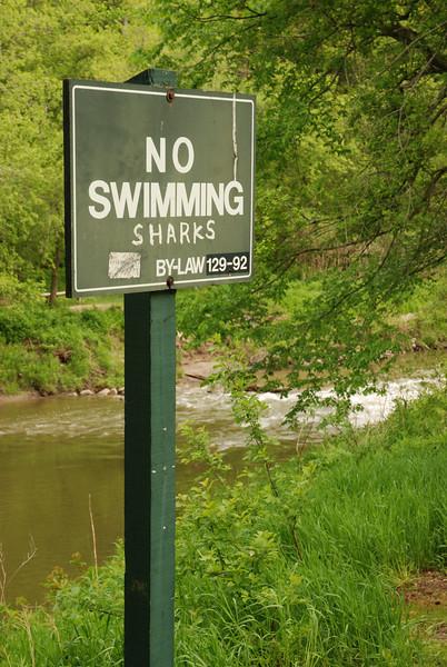 Défense de se baigner