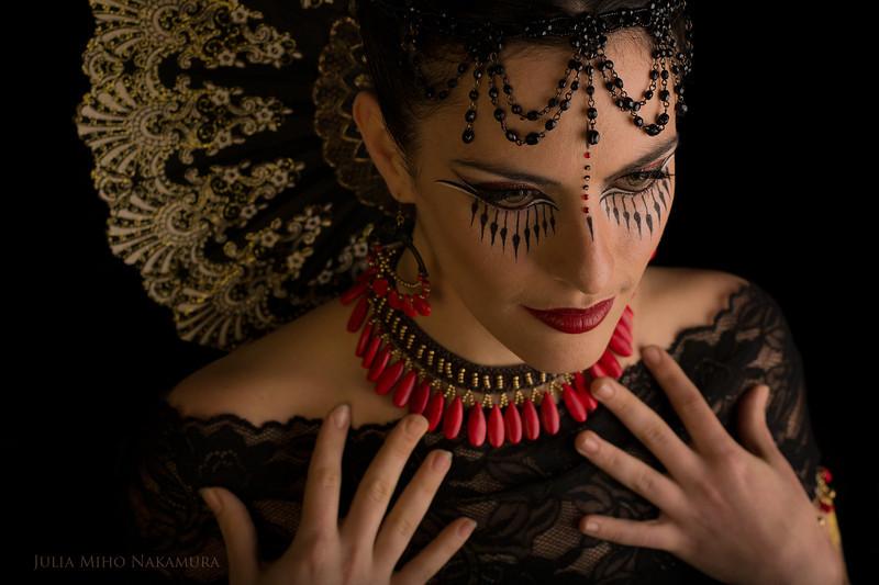 Hair/ makeup/ photography: Julia Miho Nakamura