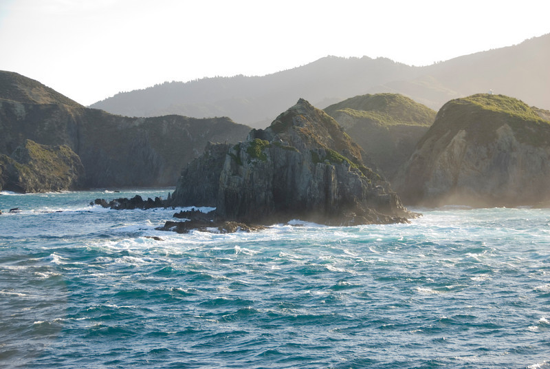 View in Queen Charolette Sound, NZ