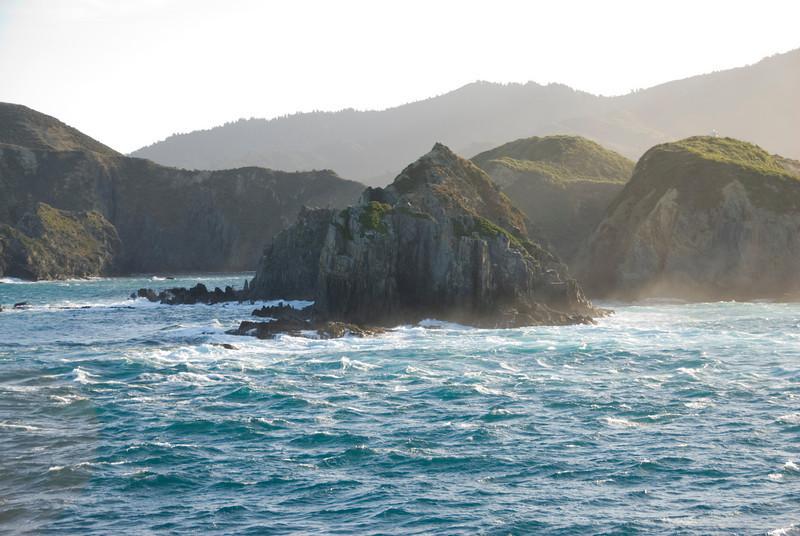 View in Queen Charlotte Sound, NZ