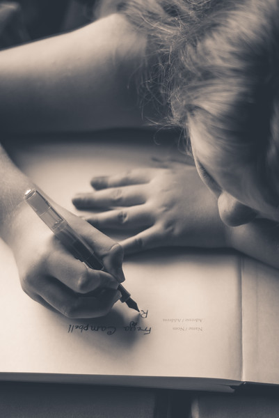 Freya's first fountain pen