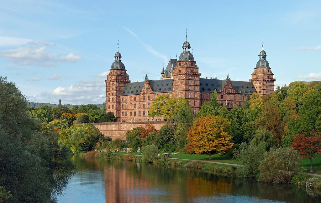 Schloss Johannisburg in Germany