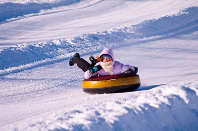 Snow Tubing in Maine