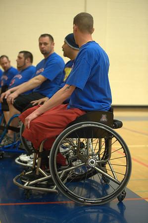 Wheelechair Basketball