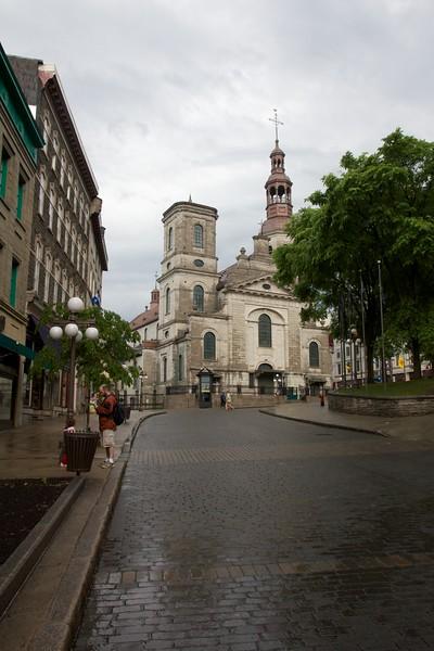 Notre-Dame de Québec Cathedral. Quebec City, Canada.