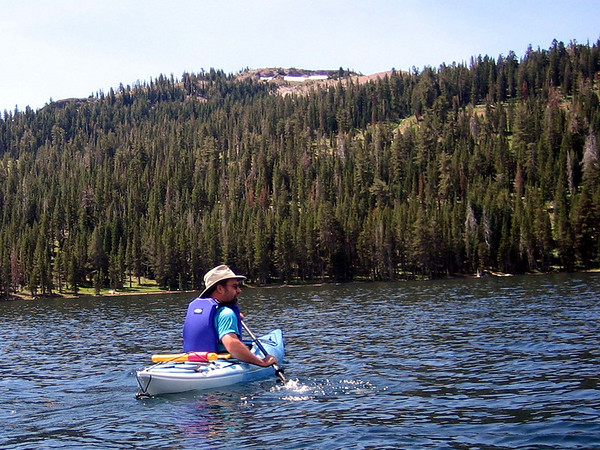 Caples Lake Kayak 2005