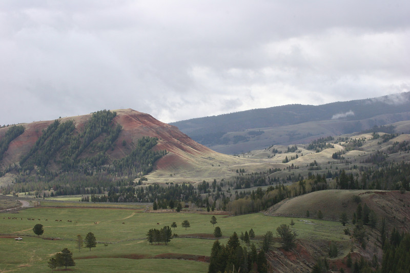 Gros Ventre Valley (means big belly)