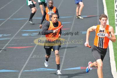 Boy's and Girl's Sprint Medley Relay - 2012 Brandon H.S. Invitational