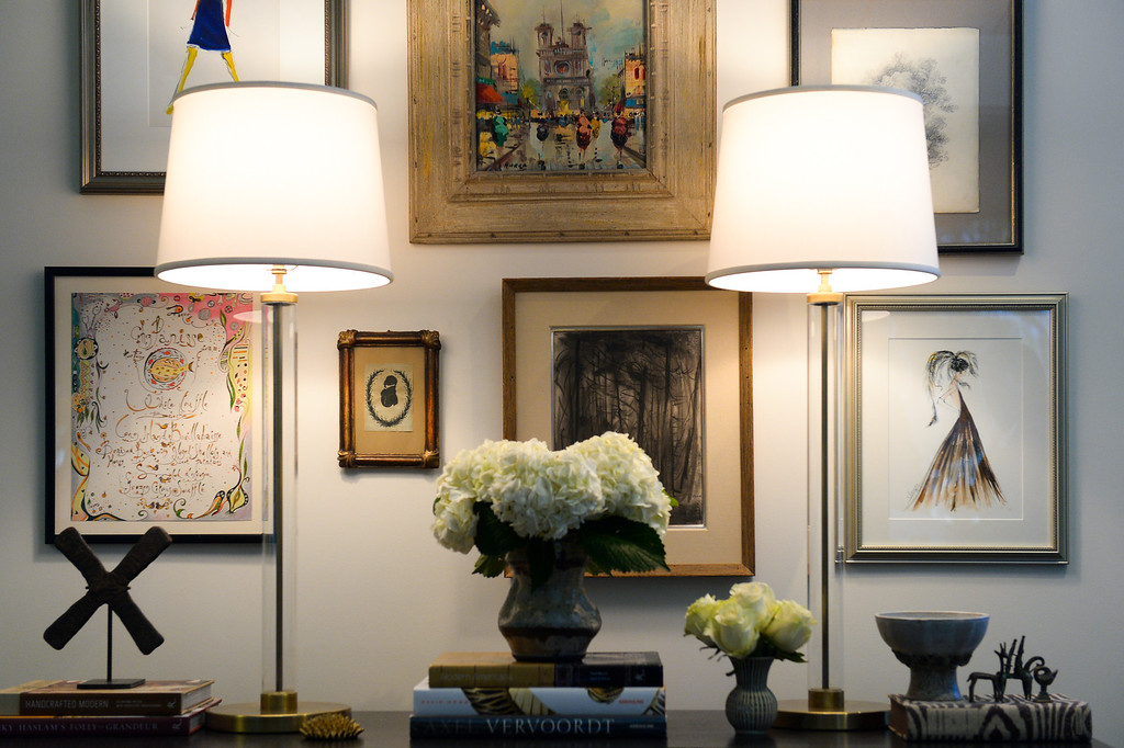 . Items in the office of Hunters Alley in Beverly Hills. The company�s new resale site launches January 22 with a selection of pre-owned furnishings and art starting at $25. (Photo by Michael Owen Baker/L.A. Daily News)