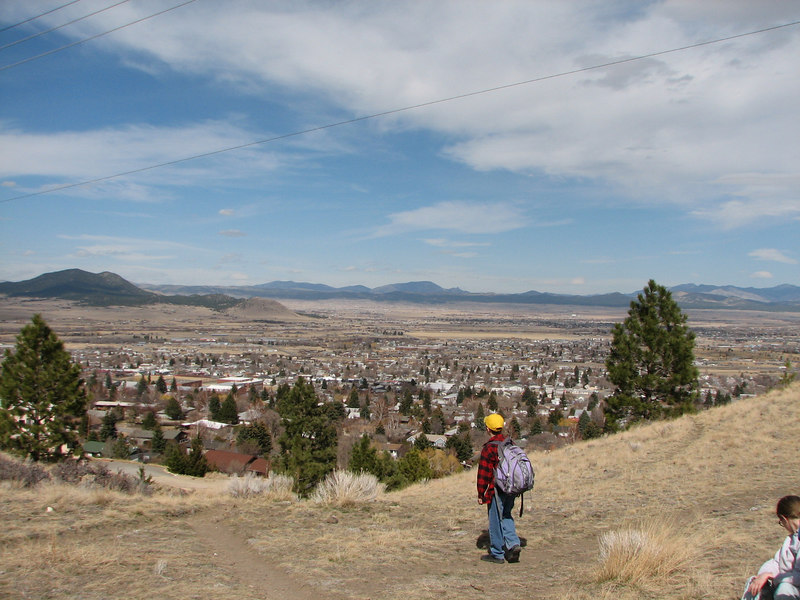 The view from Mt. Helena