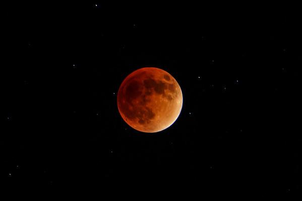 2015 Sept. 27 - Blood Moon - Lunar Eclipse