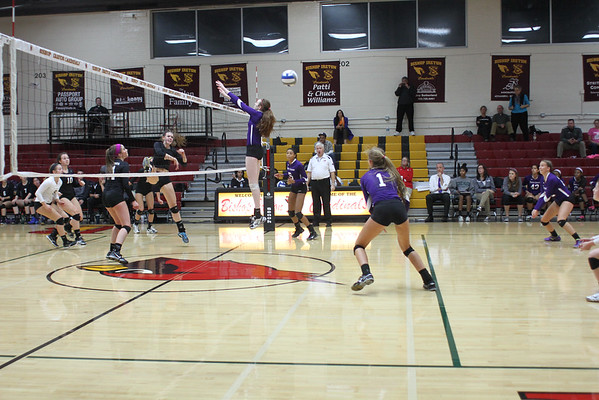 WCAC Volleyball Championship: Holy Cross vs. Paul VI