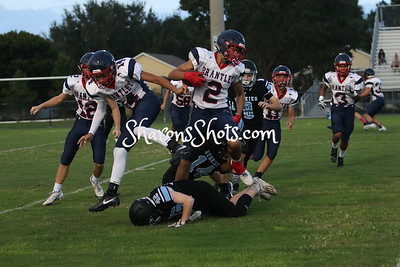 Freshman Football/Cheer v Lake Brantley 2020