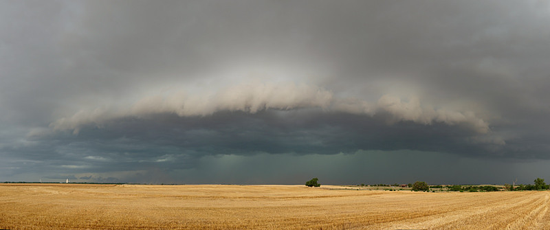 Nice structure on this storm again.