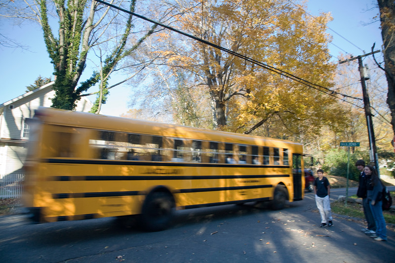 School bus, Connecticut, USA