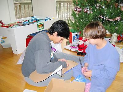 Christmas with Anna, Lonny, and Vasanti