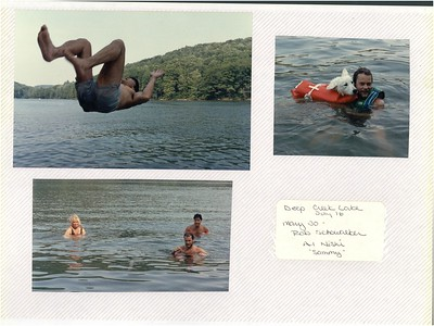 7-16-1988 Al Nishi Waker skiing @ Deep Creek Lake, MD