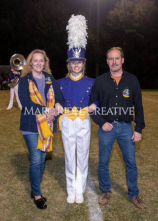 Broughton varsity football vs Cardinal Gibbons. Band and Dance Team Senior Night. October 25, 2019. MRC_3723
