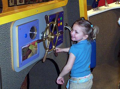 Rachel at the Children's Museum - March 2007