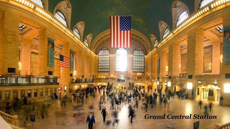 Grand Central Station, NY.