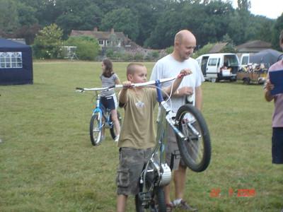 Sethern camping 2006