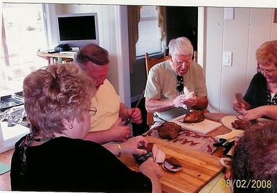2008 Agape BBQ Prep