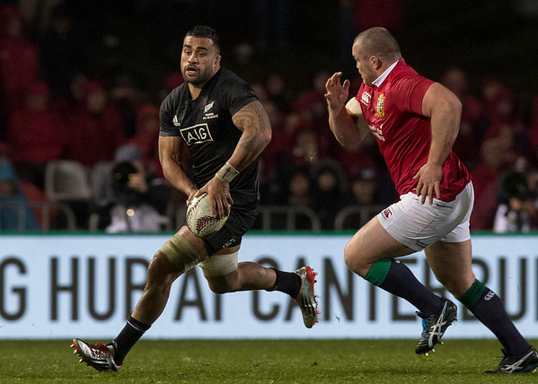 Liam Messam during game 5 of the British and Irish Lions 2017 Tour of New Zealand,The match between  The Maori All Blacks and British and Irish Lions, Rotorua International Stadium, Rotorua, Saturday 17th June 2017 (Photo by Kevin Booth Steve Haag Sports)  Images for social media must have consent from Steve Haag