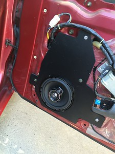 1992 Nissan 300ZX Twin Turbo Coupe Front Door Speaker Installation - USA