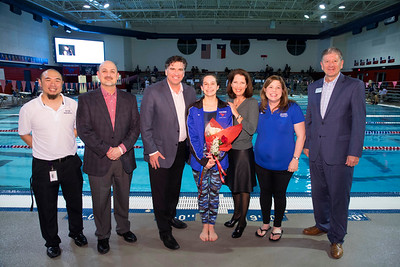 Grapevine Colleyville Swim & Dive Senior Night