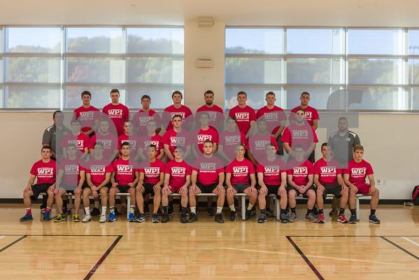 WPI men's basketball headshots 2015-2016