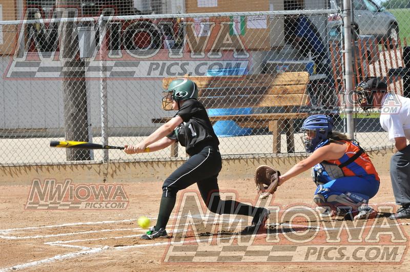 West varsity softball