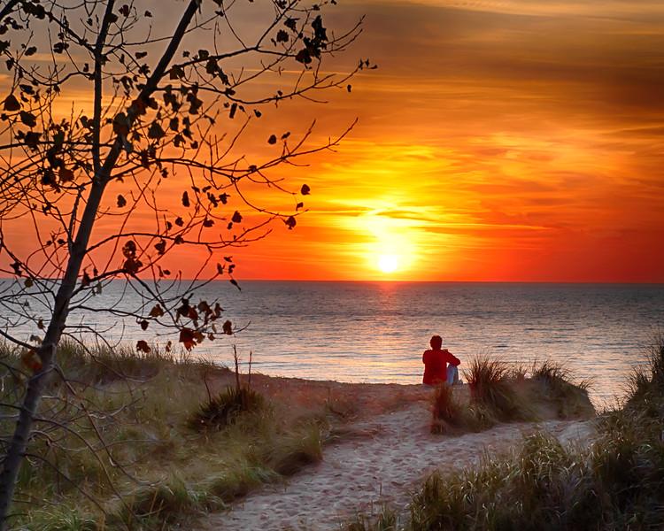 Weko Beach Sunset