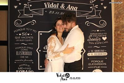 Vidal & Ana 23.11.2019 Salones Los Chopos, La Gineta (Albacete)