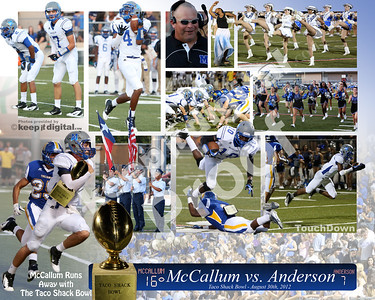 McCallum vs Anderson Taco Shack Bowl