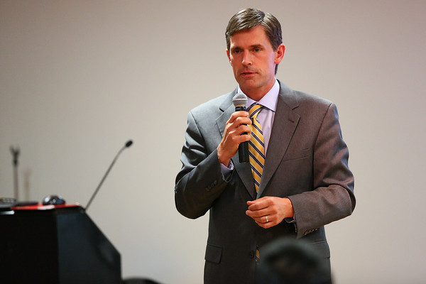 Senator Heinrich Visits City Year