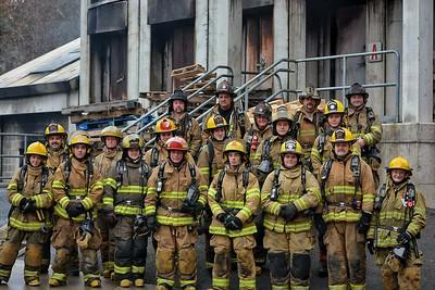 Group Shoot - CT Fire Academy FF-1 Fall Class - Fall 2017