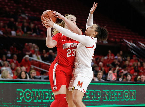 Women's College Basketball: University of Maryland vs. Ohio State