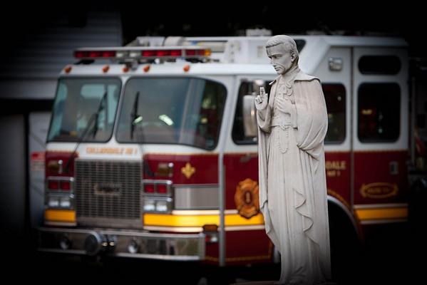 911 Memorial Mass at Thomas Aquanis Church