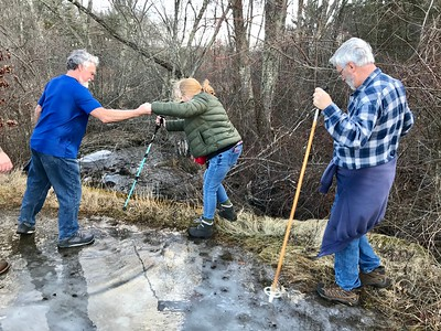 Warm weather put a spring in hikers' step - January 11, 2020