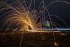 Davenport Beach Lightpainting