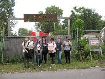 2018-09-18 SUST 350 Workday at Eden Place Nature Center