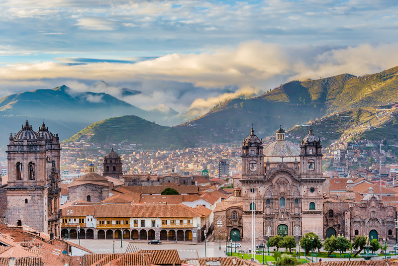 Central Cusco at Sunrise - things to do in Cusco