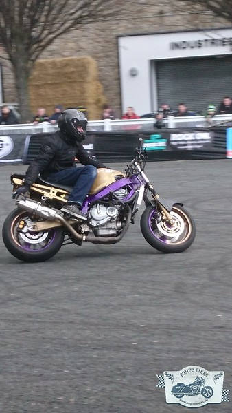 Irish Motorcycle Show 2017 Stunts and Flat Track