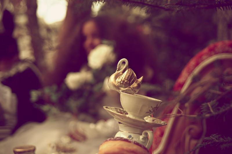 Cup Of Tea In Christmas  Wonderland